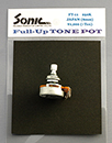 SONIC Full-Up TONE POT | メートルサイズ 250K