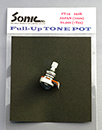 SONIC Full-Up TONE POT | メートルサイズ(7mm) 250K